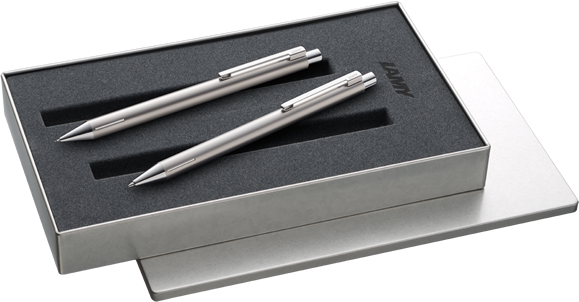 Example: LAMY econ mechanical pencil and ballpoint pen in the set