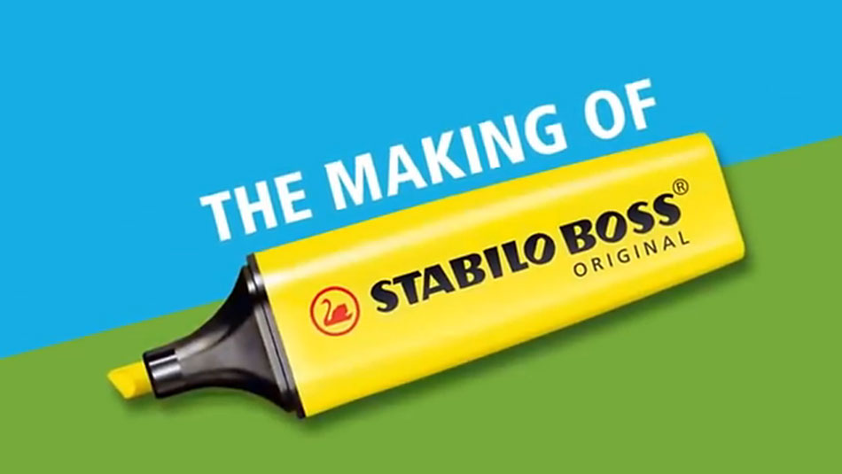 The making of STABILO BOSS (Video)
